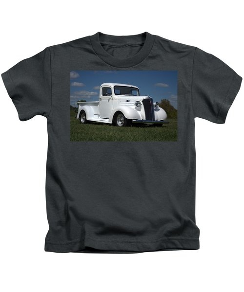 1937 Chevrolet Pickup Truck Kids T-Shirt