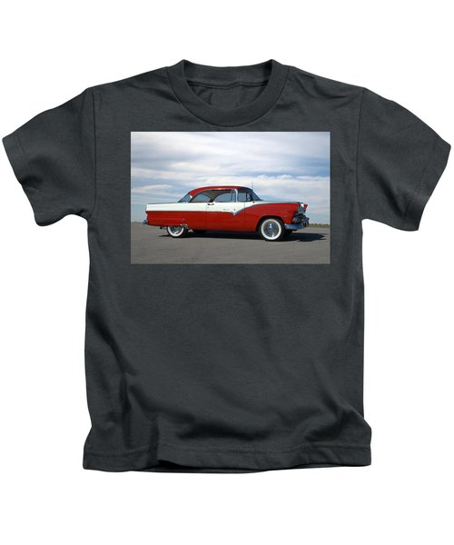 1955 Ford Victoria Kids T-Shirt