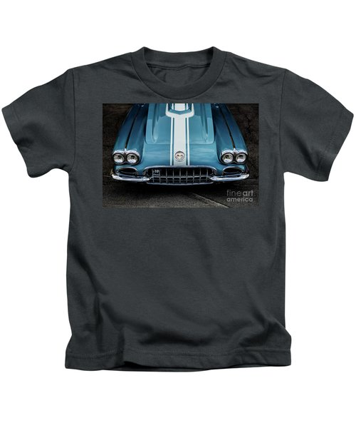 1960 Corvette Kids T-Shirt