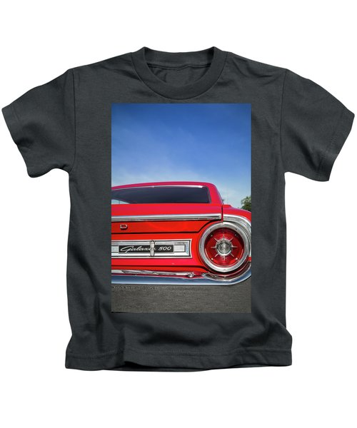 1964 Ford Galaxie 500 Taillight And Emblem Kids T-Shirt