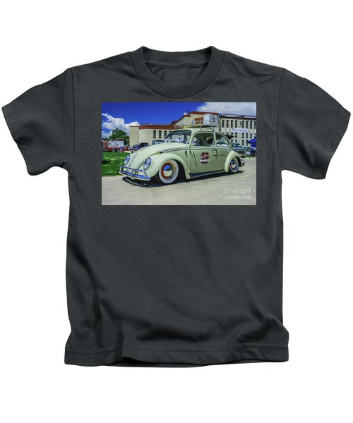 1965 Volkswagen Bug Kids T-Shirt