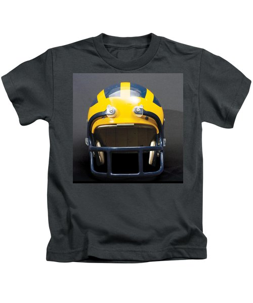 1970s Wolverine Helmet Kids T-Shirt