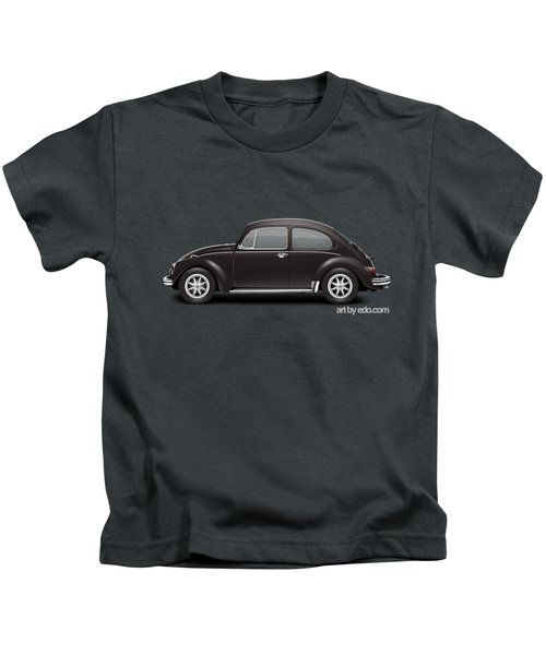 1972 Volkswagen 1300 - Custom Kids T-Shirt