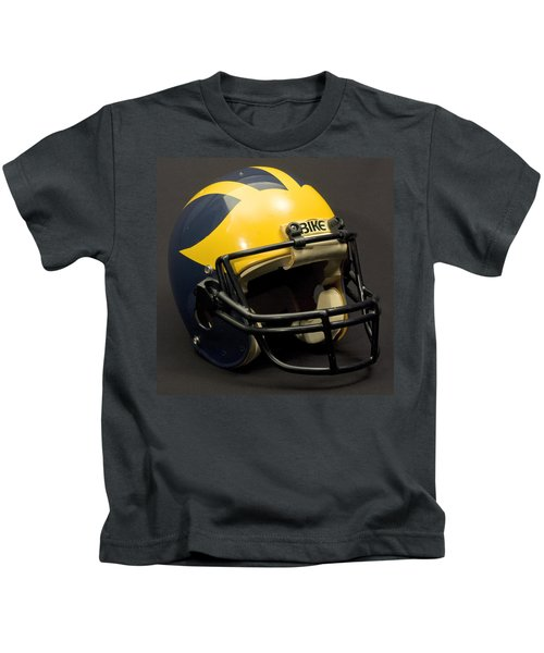 1980s Wolverine Helmet Kids T-Shirt