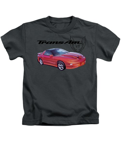 1999 Trans Am Kids T-Shirt by Paul Kuras