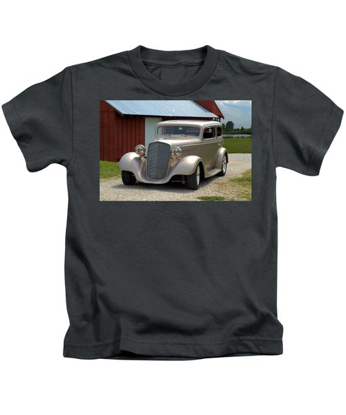 1934 Chevrolet Sedan Hot Rod Kids T-Shirt