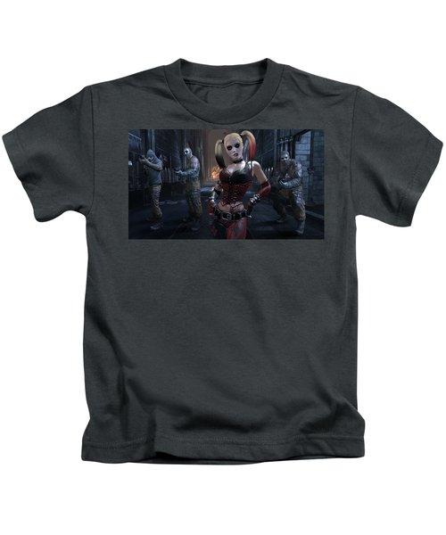 Batman Arkham City Kids T-Shirt