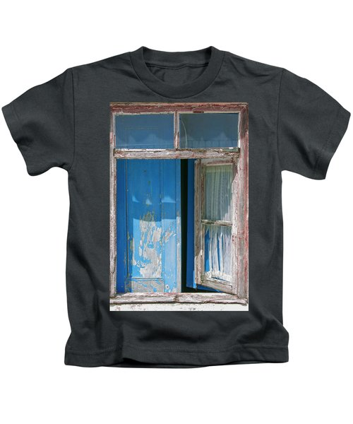 Blue Window Kids T-Shirt