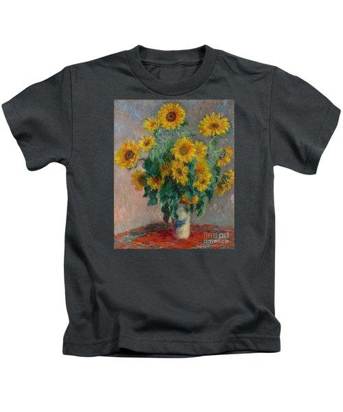 Bouquet Of Sunflowers Kids T-Shirt