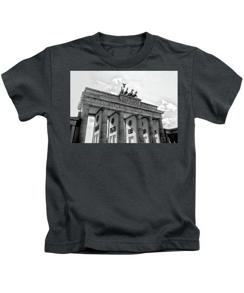 Brandenburg Gate - Berlin Kids T-Shirt