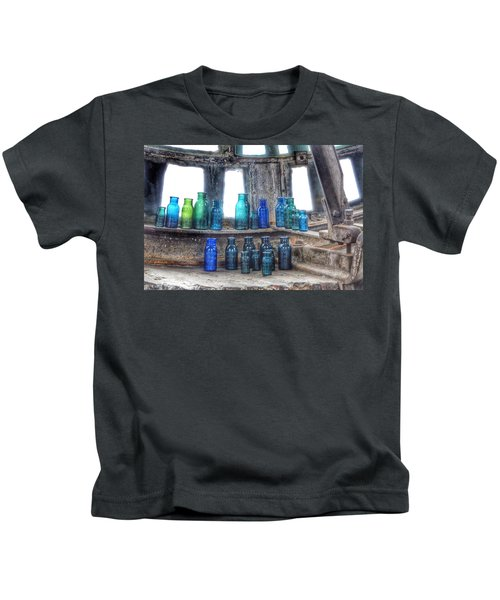 Bromo Seltzer Vintage Glass Bottles  Kids T-Shirt
