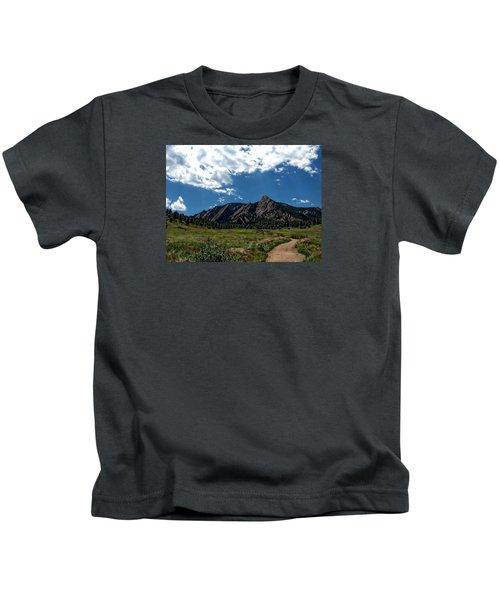 Colorado Landscape Kids T-Shirt