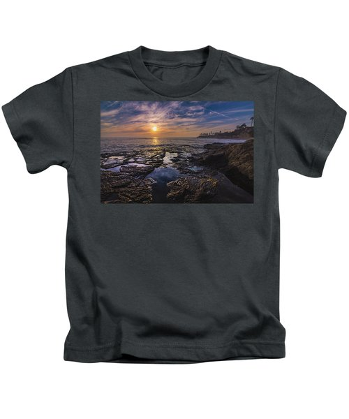 Diver's Cove Sunset Kids T-Shirt