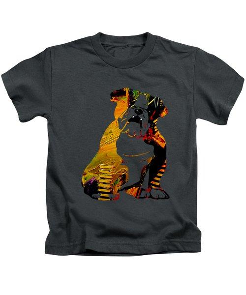 English Bulldog Collection Kids T-Shirt