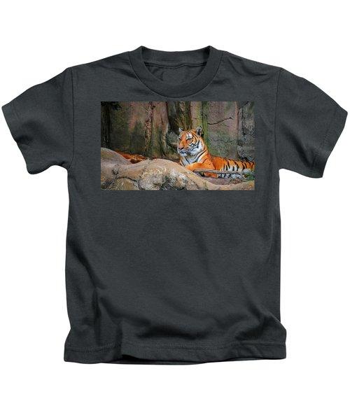 Fort Worth Zoo Tiger Kids T-Shirt