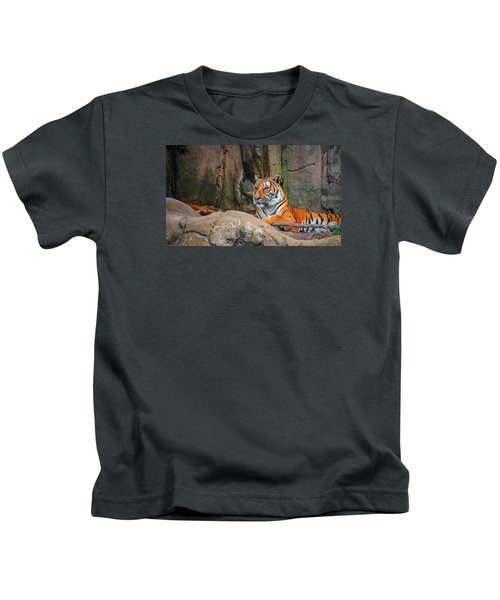 Fort Worth Zoo Tiger Kids T-Shirt