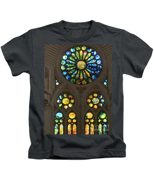 Graphic Art From Photo Library Of Photographic Collection Of Christian Churches Temples Of Place Of  Kids T-Shirt
