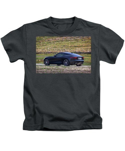 #jaguar #f-type #print Kids T-Shirt