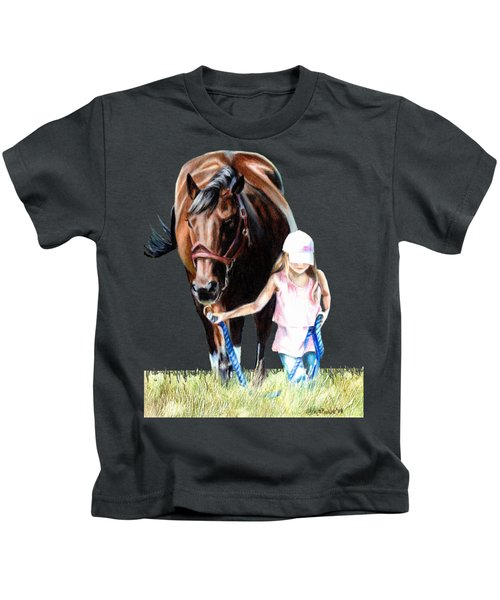 Just A Girl And Her Horse  Kids T-Shirt