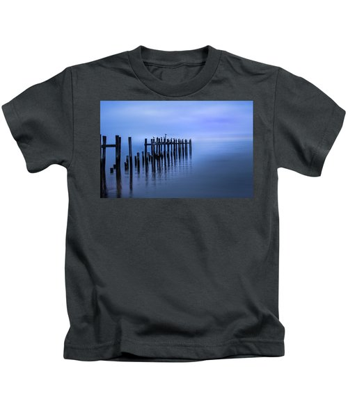 Colorful Overcast At Twilight Kids T-Shirt