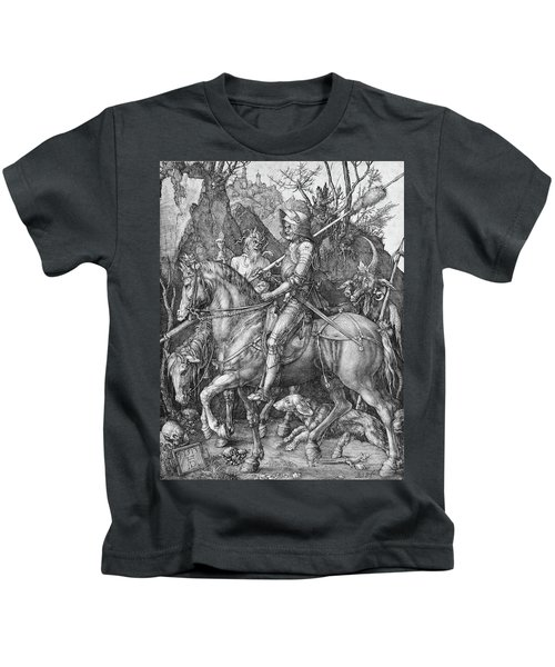 Knight Death And The Devil Kids T-Shirt