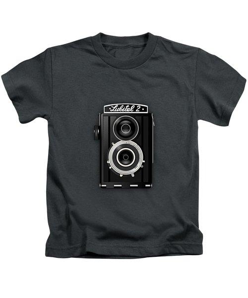 Lubitel 2 Vintage Camera Collection Kids T-Shirt