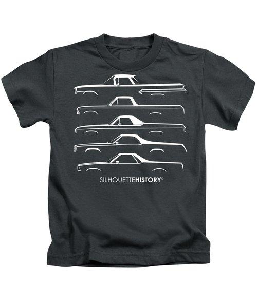 Pickupino Silhouettehistory Kids T-Shirt