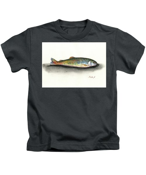 Rainbow Trout Kids T-Shirt