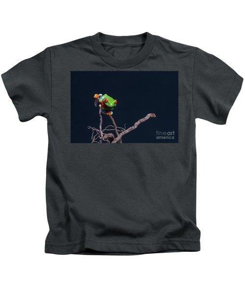 Red Eyed Tree Frog Kids T-Shirt