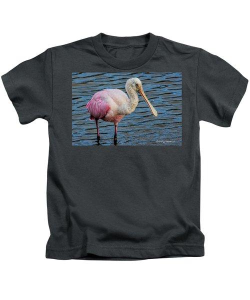 Roseate Spoonbill 1 Kids T-Shirt