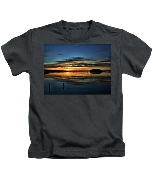 Sunrise Onset Pier Kids T-Shirt