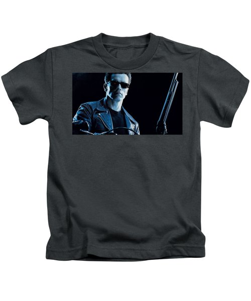 Terminator 2 Judgment Day Kids T-Shirt