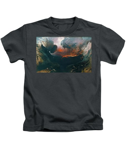 The Great Day Of His Wrath Kids T-Shirt