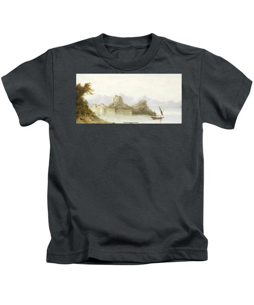 The Old Fortress Of Corfu Kids T-Shirt