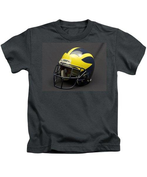 2000s Era Wolverine Helmet Kids T-Shirt