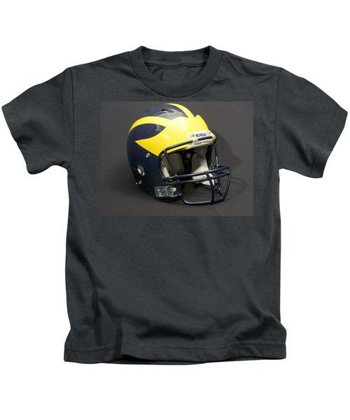 2000s Wolverine Helmet Kids T-Shirt