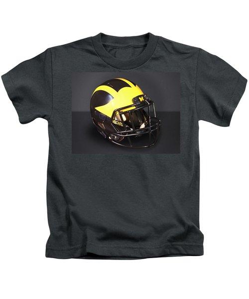 2010s Wolverine Helmet Kids T-Shirt