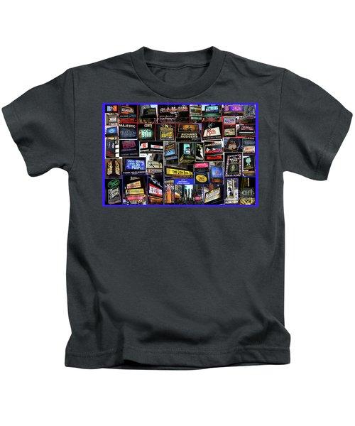 2016 Broadway Spring Collage Kids T-Shirt