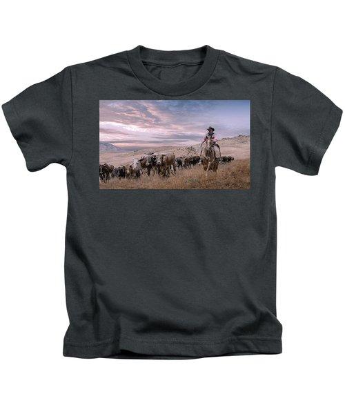 2016 Reno Cattle Drive Kids T-Shirt