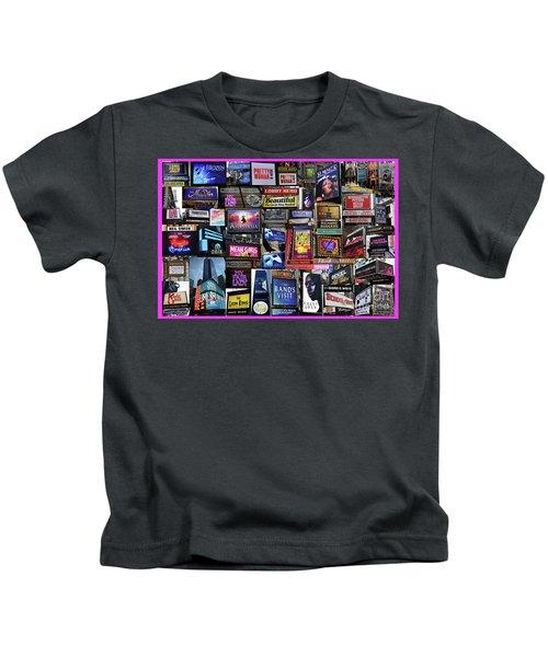 2018 Broadway Spring Collage Kids T-Shirt