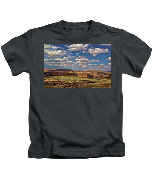 Capitol Reef National Park Catherdal Valley Kids T-Shirt