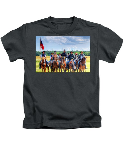 2nd Us Cavalry  Kids T-Shirt