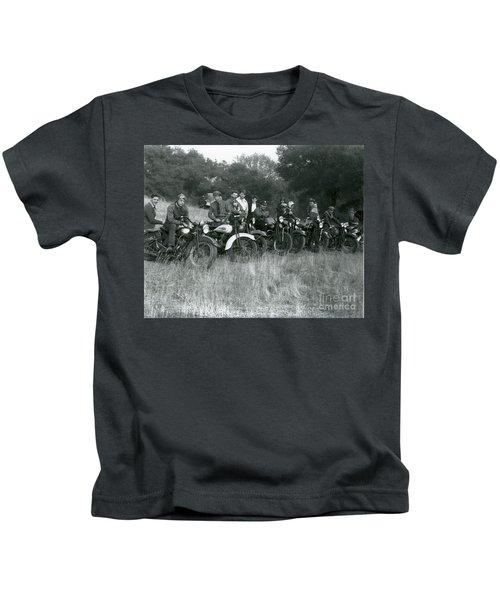 1941 Motorcycle Vintage Series Kids T-Shirt