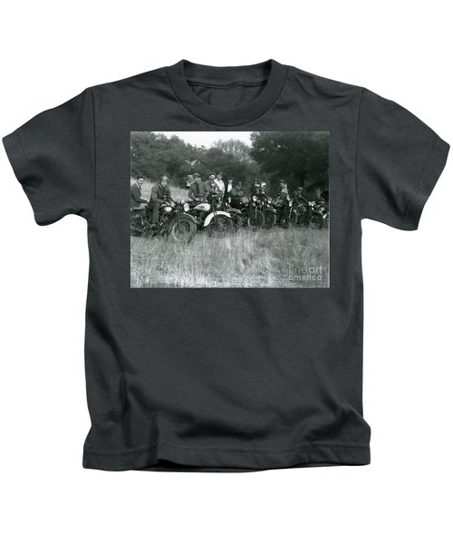 1941 Motorcycle Vintage Series Kids T-Shirt
