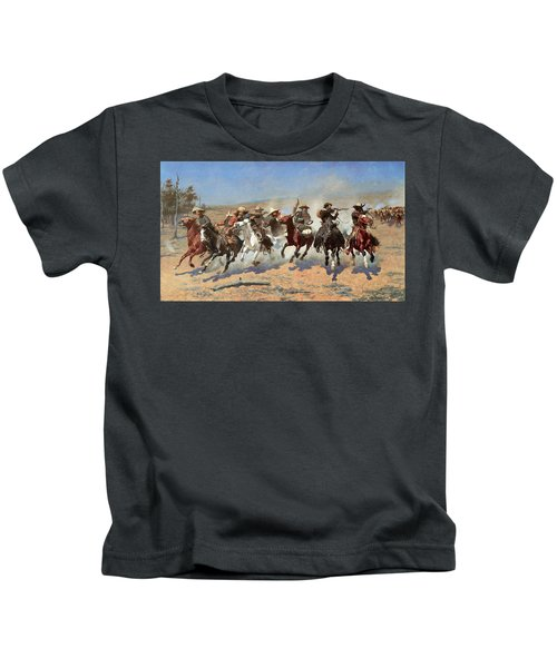 A Dash For The Timber Kids T-Shirt
