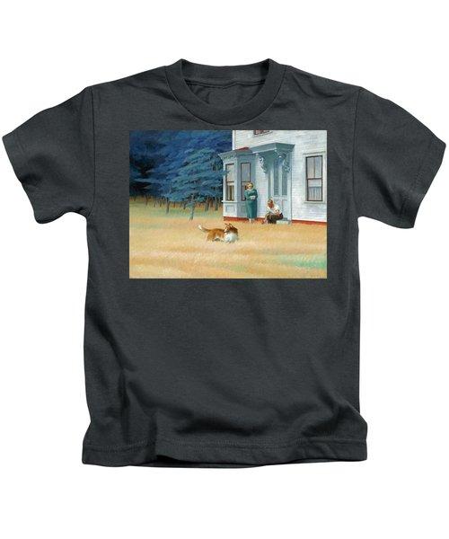 Cape Cod Evening Kids T-Shirt