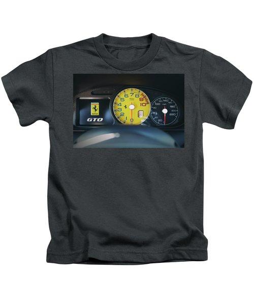 #ferrari #599gto #print Kids T-Shirt