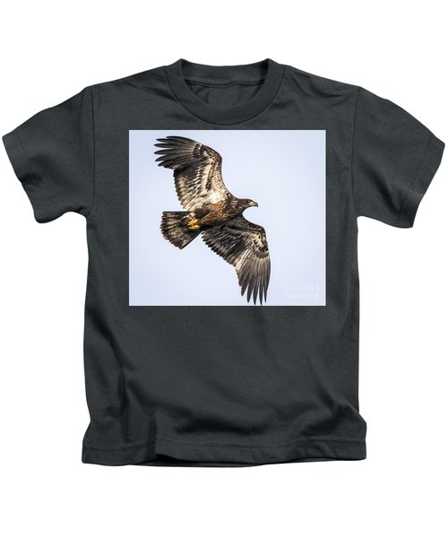 Juvenile Bald Eagle  Kids T-Shirt