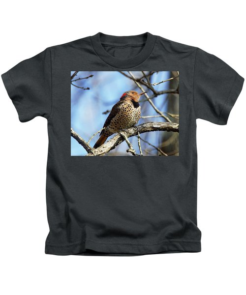 Northern Flicker Woodpecker Kids T-Shirt