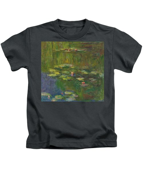 The Water Lily Pond Kids T-Shirt